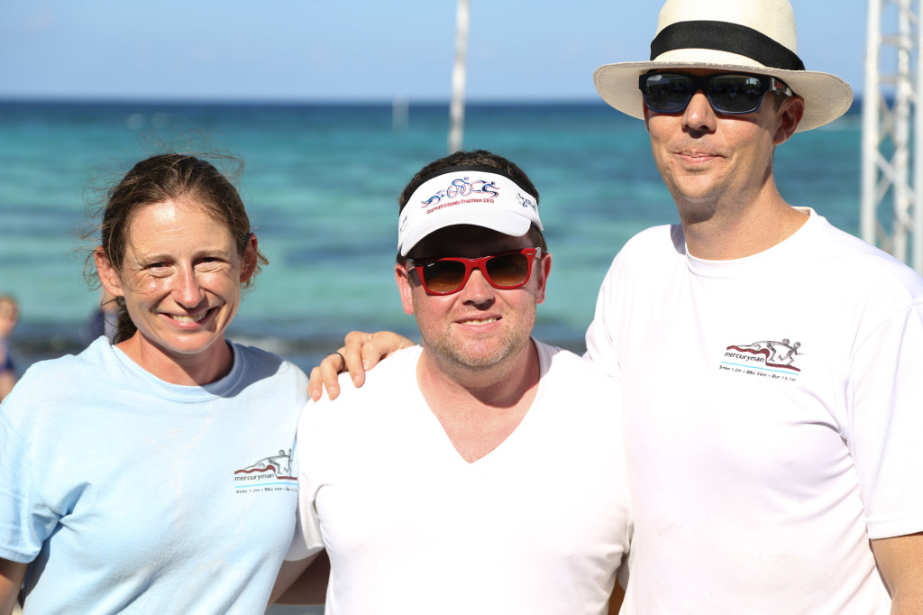 Race directors and founders of the mercuryman triathlon